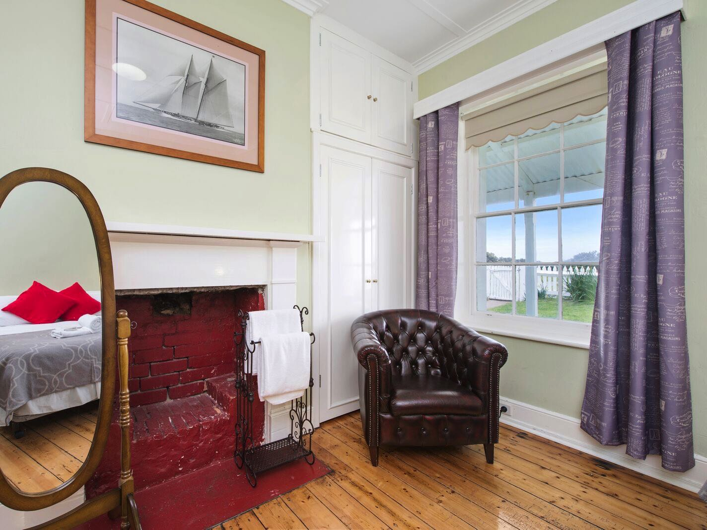 Lightkeeper's Cottage - Bedroom