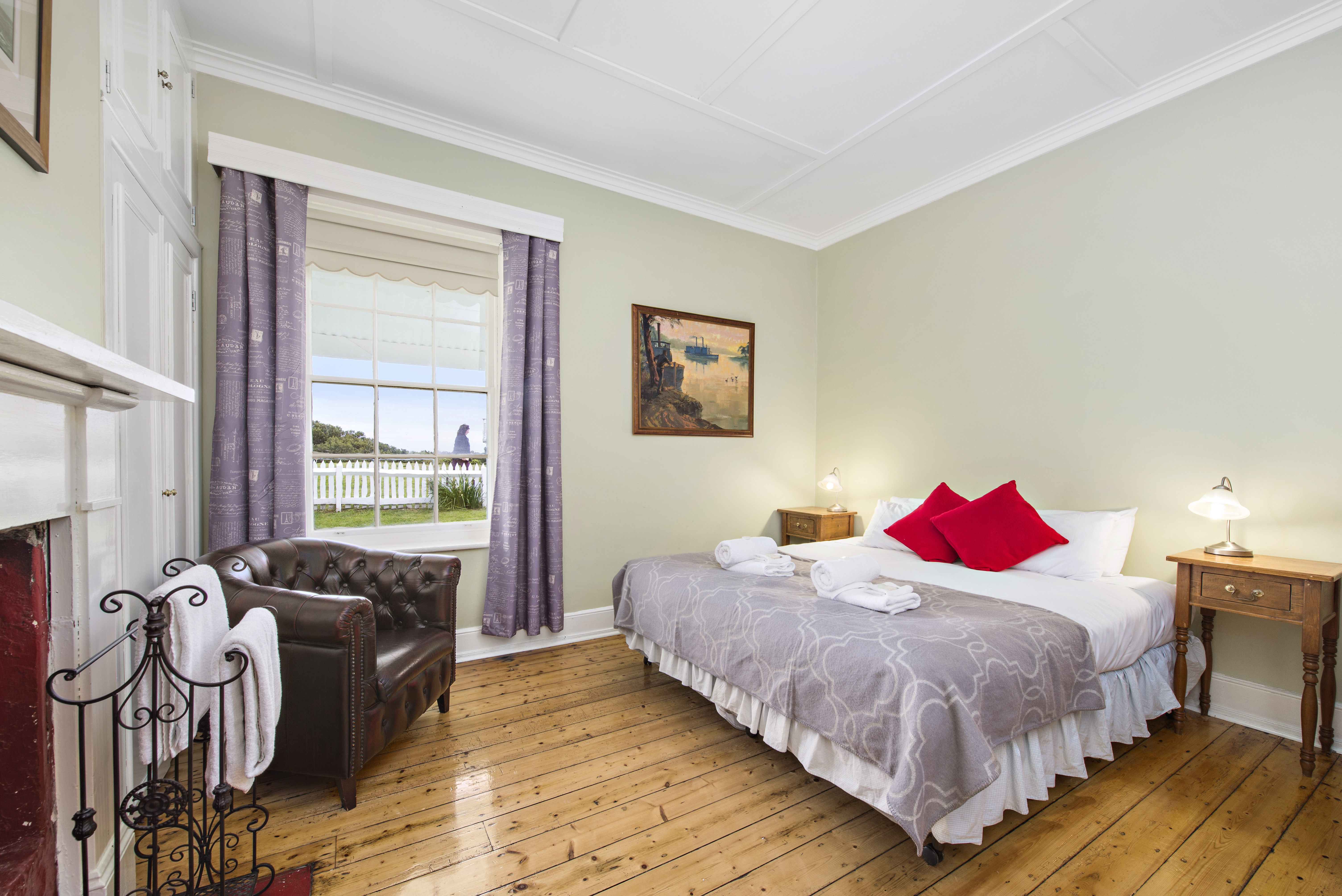 LIghtkeeper's Cottage Bedroom