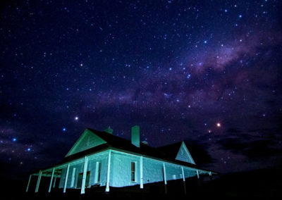 Telegraph Station at Night
