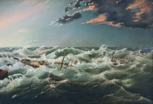 James_Shaw_-_The_Admella_wrecked,_Cape_Banks,_6th_August,_1859_-_Google_Art_Project