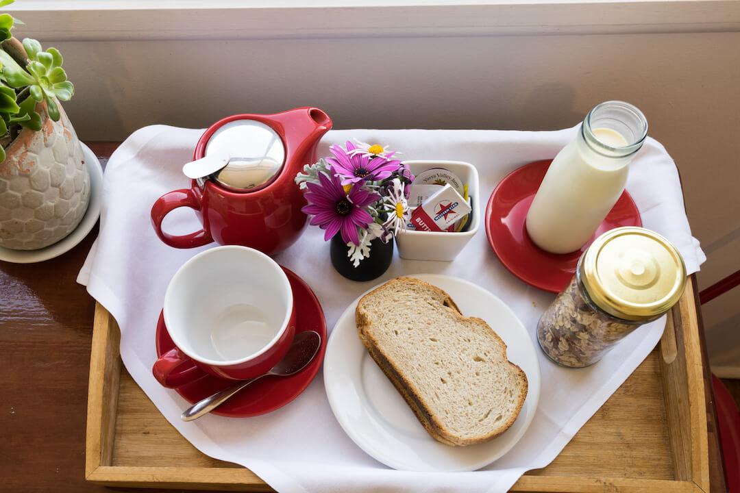 Studio breakfast